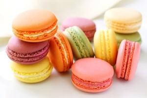 makaroniki francuskie słodycze